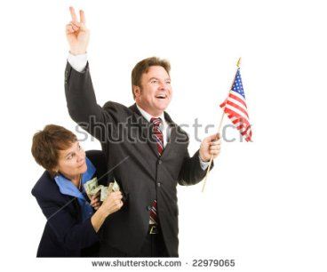 stock-photo-corrupt-politician-running-for-office-while-taking-bribes-from-special-interests-isolated-on-white-22979065